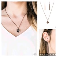Prime rose path copper necklace  Gaithersburg