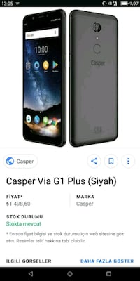 Casper VİA G1 Plus Ereğli