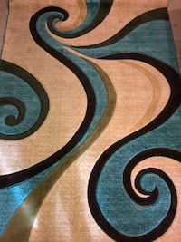 Brown and Turquoise Area Rug Houston, 77085