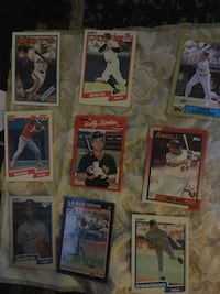 nine baseball trading cards Santa Rosa, 95401