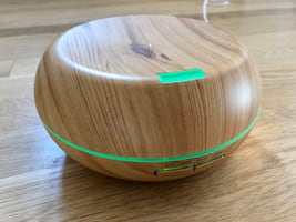 Aromatherapy Essential Oil Diffuser Wood Grain Ultrasonic Cool Mist