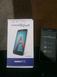 Coolpad cell phone already activated and on Saint Ann, 63074