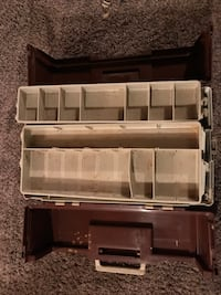 Vintage Plano tackle box