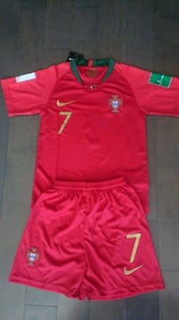2018 portugal world cup kids kit #7 Ronaldo Mississauga, L5B