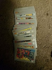 Old dc comic card  85 km