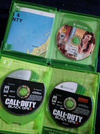 Grand Theft Auto 5, Call of Duty 1, 2, and 3. Omaha, 68105