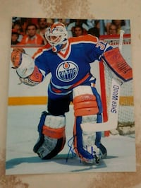 Grant Fuhr Autographed 8x10 Photo  3144 km