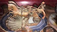 Really cool antique chariot and horses. Calgary, T2Y 2W5