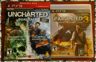 PlayStation 3 Unchartered games