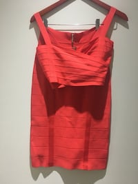 Bebe two piece red skirt and top Vancouver, V6C