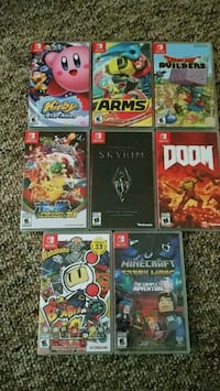Brand New Switch Games  Kelowna, V1Y 6H2