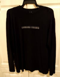 ARMANI JEANS MENS LONG SLEEVE LIGH SWEATER, SIZE XL Richmond Hill