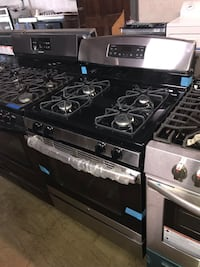 Brand New GE stainless steel gas stove 6 months warranty