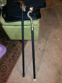 2 walking canes for sale 1 sword see detail Dade City, 33523