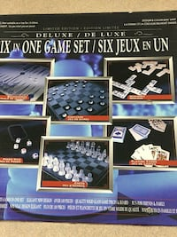Deluxe Six in one Game set