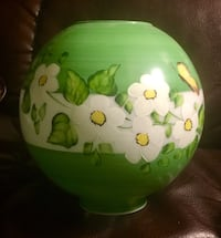 Beautiful hand painted butterfly lamp shade