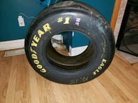 Nascar clit bowyer used rr tire Boonville, 47601