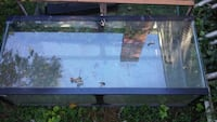 rectangular black framed glass tank Alexandria, 22315