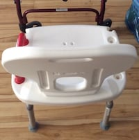 Shower chair. New with a handle Calgary, T2Y 4E4