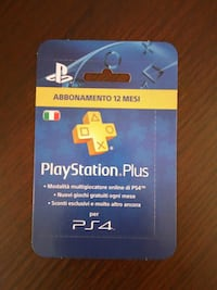 Plus ps4 12 mesi Milano