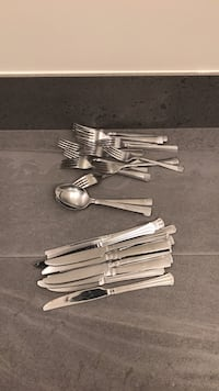 Stainless steel combination wrench set 41 km