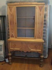 brown wooden cabinet with hutch Montréal, H4B 2Y1