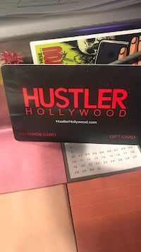 Gift card to hustler Hollywood for $85 Los Angeles, 90027