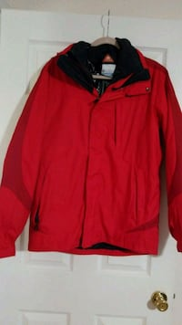 red and black zip-up jacket Cape Coral, 33991