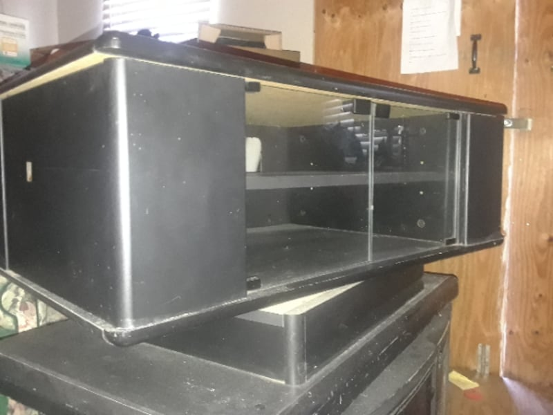 TWO TV STANDS!  9664c567-59d7-4d29-badb-75b98ee9b0a6