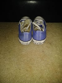 pair of blue-and-white Nike sneakers Riverdale, 30274