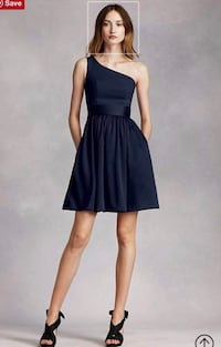 Navy Bridesmaid Dress - Vera Wang - Size 10 Washington, 20032