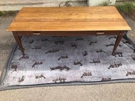 Older wooden coffee table