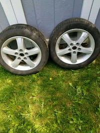 2 Tires with rims- 195/55R16 Mississauga, L5K 1E8