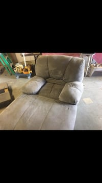 brown suede 3-seat sofa Fremont, 94538