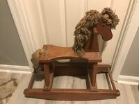 Wooden rocking horse Frederick, 21701