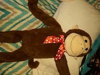 brown monkey plush toy Seminole, 33776