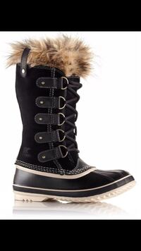 SOREL WOMEN'S JOAN OF ARCTIC BOOT BLACK - size 7 brand new in the box. Original price 249+tax Toronto, M2M
