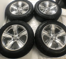 2009-2019 Dodge Ram 1500 Wheels and ALL-TERRAIN T/A KO2 Tires