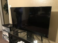 black LG flat screen TV Dallas, 75243