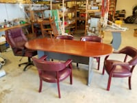 conference table and chairs. Wilmington