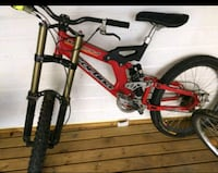 Cortina dh Deluxe downhill sykkel 5945 km