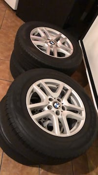 BMW 17 inch Rims with Tires mint condition! New York, 11222