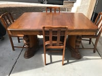 Vintage Dining Table with 4 Chairs Las Vegas, 89134