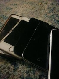 Iphones ,androids, tablets, (for parts)