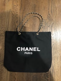 Chanel VIP Large Tote with Classic Chain Shoulder Strap Yorktown Heights, 10598