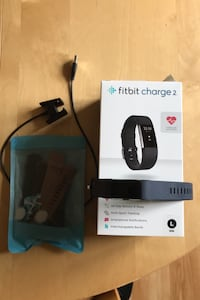 Fitbit Charge 2 with Charger and bands Barto, 19504