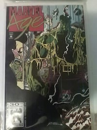marvel age comic book