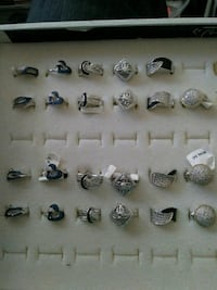 Sterling silver and 18k gold rings Huntsville, 35816