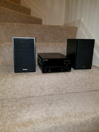 black Denon home theater system Tysons, 22102