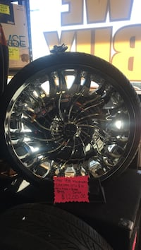 Star 458 magnum 22inch rims w new tires Wallingford, 06492